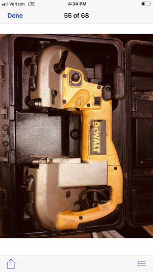 DEWALT BAND SAW VARIABLE SPEEDS for Sale in Bowdon, GA