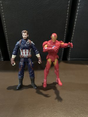 Captain America & Iron Man action figures for Sale in Edgewood, WA