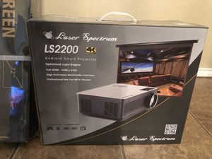 4K Laser Projector HD for Sale in Port Arthur, TX
