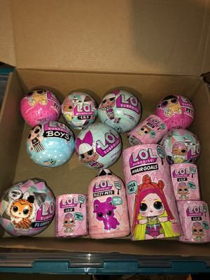 Big LOL SURPRISE GIFT BUNDLE $95 Firm for Sale in West Chicago, IL