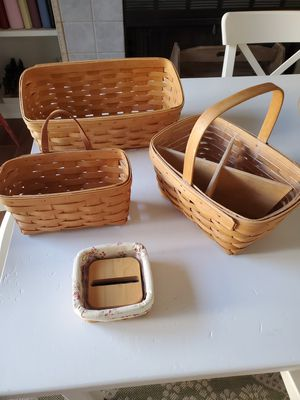 Longaberger baskets for Sale in Orange, CA