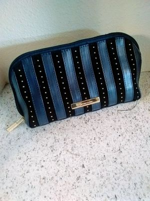 large navy blue & gold cosmetic bag from ulta for Sale in Castle Dale, UT