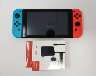 UNPATCHED/HACKABLE Switch Trades Welcome Playstation Xbox PS4 Nintendo With Blue & Neon Red Joy-Cons for Sale in Sugar Land, TX