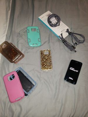 Samsung Galaxy S7, 4 Cases, 3 Chargers for Sale in Mount Oliver, PA