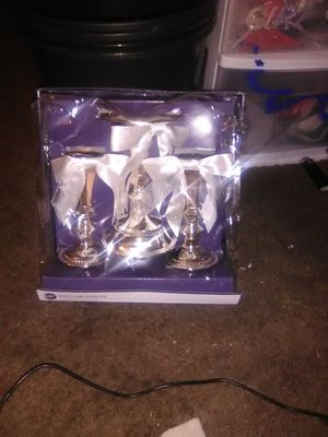 Brand new unity candle holder set for Sale in Bethany, OK