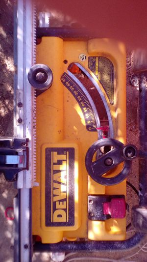 "$120 Lightly used DeWalt 10"" table saw excellent working condition just needs a dust bag for Sale in Citrus Heights, CA"