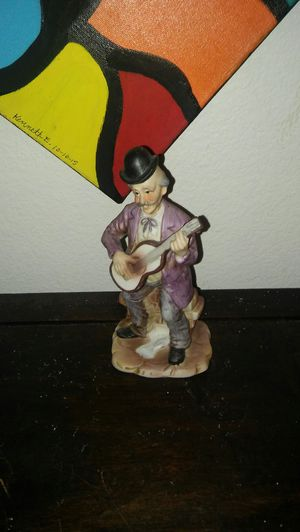 Figurine with guitar for Sale in Las Vegas, NV