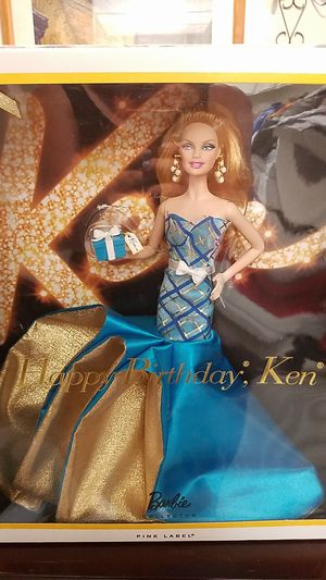 Happy birthday Ken Barbie for Sale in Placentia, CA