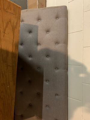 Queen size head board and frame for Sale in Salina, KS