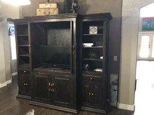 Tv cabinet book shelf from razzmatazz - very heavy! for Sale in Scottsdale, AZ