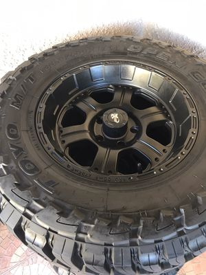 Rims with tires for Sale in Reedley, CA