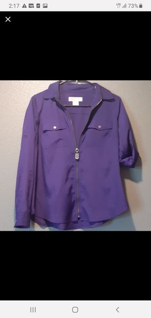 Authentic Michael Kors blouse size P/M for Sale in Columbus, OH