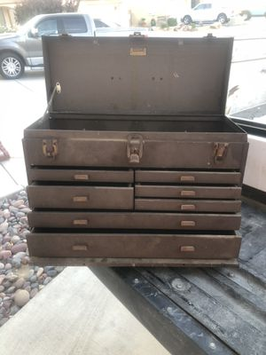 Old antique Machinist Kennedy box for Sale in Victorville, CA