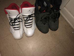 Jordan 8's & 13's size 8.5 for Sale in Alexandria, VA