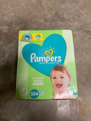 Pampers wipes 504 count for Sale in Lenexa, KS