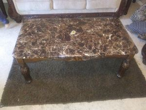 Coffee table and 2 end tables for Sale in Virginia Beach, VA