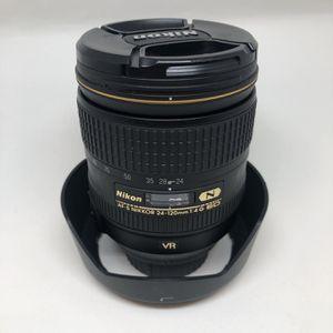 Nikon 24-120 f/4 Zoom Lens for Sale in Philadelphia, PA