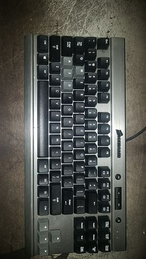 Corsiar Vengeance K65 Wired Keyboard for Sale in Hillsboro, OR