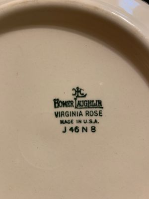 Homer Laughlin fruit bowl for Sale in NW POINT, MO