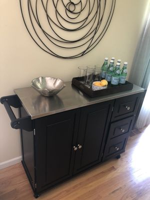 Kitchen island / drinks trolley for Sale in Chicago, IL