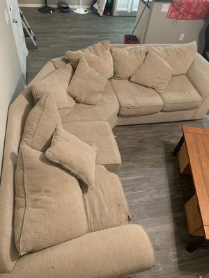 Sectional couch USED for Sale in Queen Creek, AZ