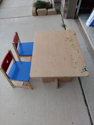 Kids table and chairs for Sale in Fort Worth, TX