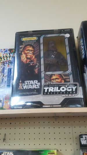 2004 HASBRO STAR WARS THE ORIGINAL TRILOGY COLLECTION CHEWBACCA for Sale in Leander, TX