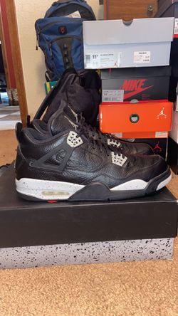 Jordan retro 4's size 13 for Sale in Oklahoma City,  OK