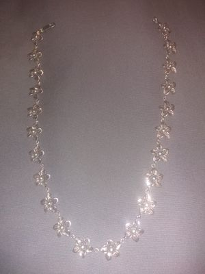 Beautiful handcrafted sterling silver necklace for Sale in Houston, TX
