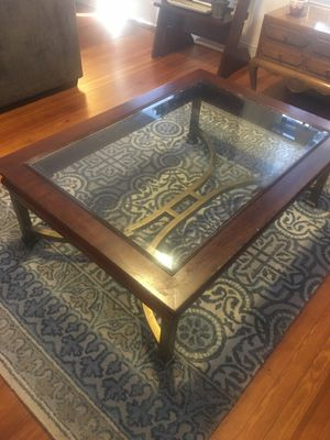 Glass Top Coffee Table for Sale in Baltimore, MD