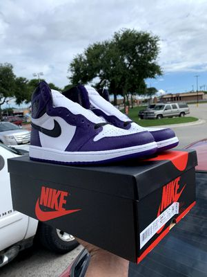 Air Jordan 1 Court Purple 2.0 Size 10.5 for Sale in Fort Worth, TX