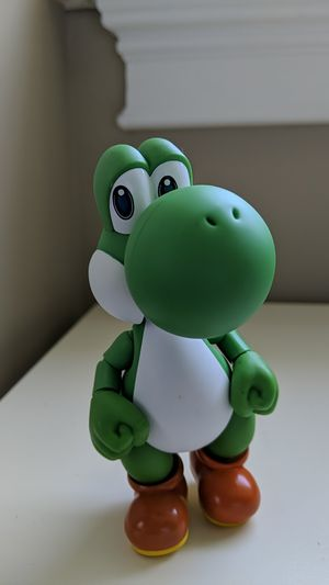 Find Nintendo super mario figure figurine pvc toy yoshi for Sale in Stamford, CT