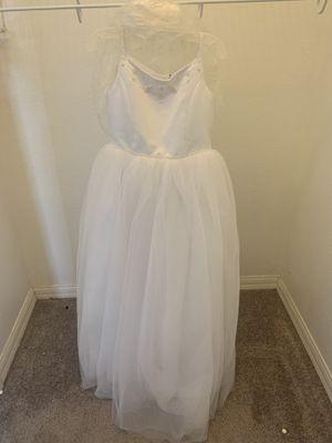 Flower girl dress size 10 for Sale in Winter Garden, FL