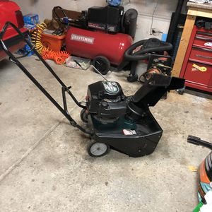 "Craftsman 21"" path snowblower for Sale in Tonawanda, NY"