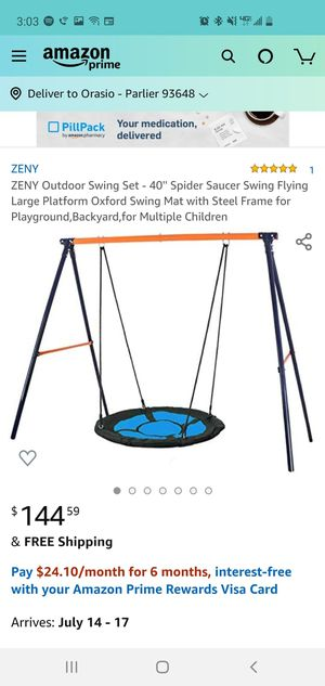 Outdoor Swing set for Sale in Parlier, CA