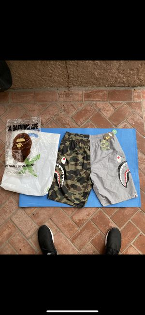 Bape Camo Shark Shorts for Sale in Culver City, CA