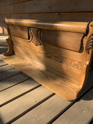 Old oak pew shelf for Sale in Pinetop-Lakeside, AZ