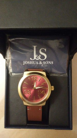 Brand New Joshua & Sons Watch for Sale in Indianapolis, IN