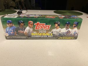 Brand new Topps 2020 Complete Baseball Set cards for Sale in Miami, FL