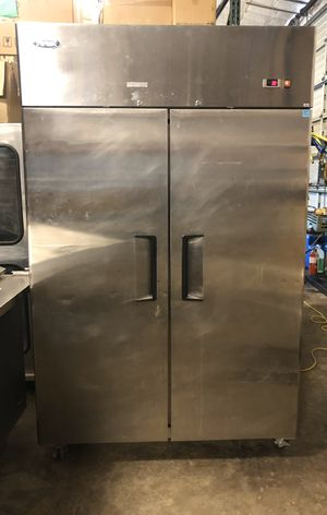 Top mount double door used commercial cooler for Sale in Renton, WA