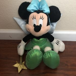 Disney Minnie Mouse tinkerbell plush 🐭❤️ for Sale in Riverside, CA