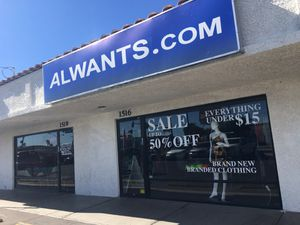 Clearance sales, everything must go. 1516 S main st las vegas NV {contact info removed} call me to make an appointment to shop. for Sale in Las Vegas, NV