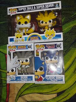 Sonic The Hedgehog Funko Pop Bundle for Sale in Los Angeles,  CA