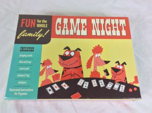 NEW GAME NIGHT Fun for Whole Family 11 Card Dice Board Farkle Hearts Liar Rummy for Sale in Severn, MD