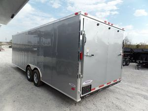 ENCLOSED VNOSE TRAILERS ALL SIZES AND COLORS 20FT 24FT 28FT 32FT IN STOCK FREE DELIVERY for Sale in New Franken, WI