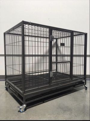 "Brand new 43"" heavy duty dog cage for Sale in Manteca, CA"
