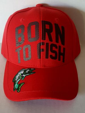 BORN TO FISH HATS for Sale in San Jacinto, CA