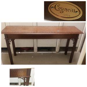 Councill Craftsmen Console Table for Sale in Dallas, TX