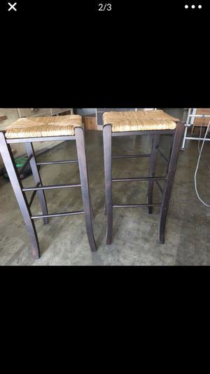 Two bar stools for Sale in Costa Mesa, CA