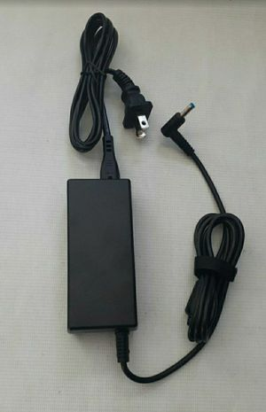Charger for HP pavilion chromebook Laptop AC Adapter Power Supply Charger,19.5V 65W blue tip for Sale in San Dimas, CA